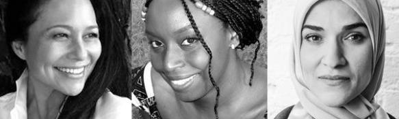 Elizabeth Lindsey, Chimamanda Adichie, Dalia Mogahed